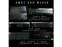 **Speakers, mixer, eq, amps and cdj bundle.**quick sale £700