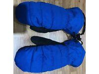 DC FRANCHISE SNOWBOARD/SKI ROYAL BLUE MITTENS