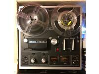 AKAI 1721L Reel to Reel Recorder VGC with Tapes.