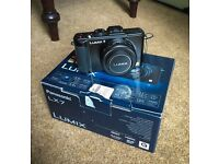 Panasonic LX7 Camera with Leather Case, Hard Case, Spare Battery, SD Card, original box and contents