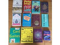 Job Lot of Random Books (Brand New/ Like New)