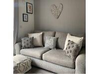 Next grey sofa