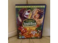 Disney DVD'S Platinum Edition Jungle book 2disc edition Bambi plus Snow White
