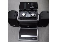 DJ Controller Set with Case, Speakers and Sub £1055