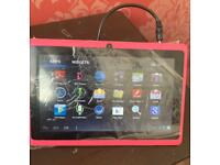 """8"""" Pink Android Tablet - New - softwinerevb Model"""