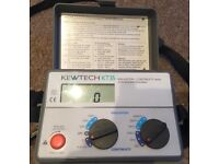 Kewtech KT35 Digital Insulation and Continuity Tester