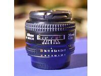 Nikon Nikkor 35mm f2 af D lens in good conditions