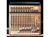 SOUNDCRAFT STUDIO MIXING DESK. SPIRIT SX IN NEW CONDITION.