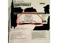 2 x weeknd starboy tickets leeds! Seated!!