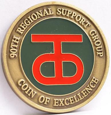 Challenge Coin Us Army 348Th Transport Battalion 90Th Regional Support Group
