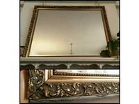 Large decorative mirror