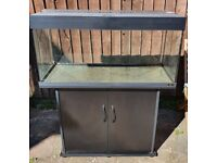 Juwel Rio 180 Litre Fish Tank with Stand in Black