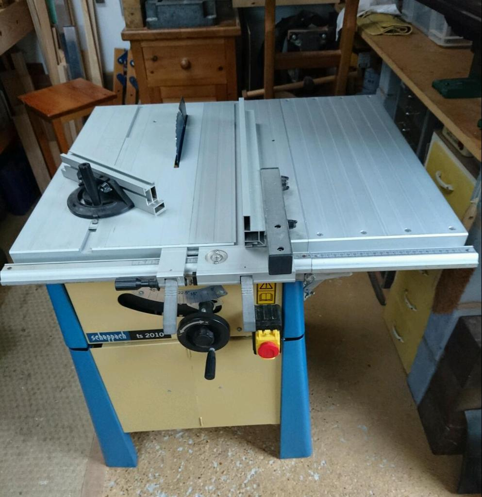 scheppach ts2010 8 table saw in dover kent gumtree. Black Bedroom Furniture Sets. Home Design Ideas