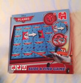 Disney Planes Slide And Find Game From Jumbo. Complete And Very Good Condition.