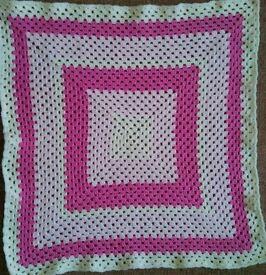 Beautiful Pram blankets. Hand crocheted.