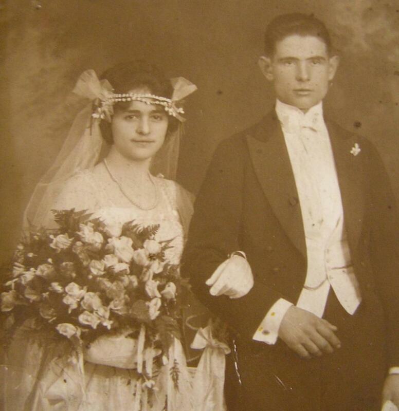 Victorian 1909 LADIES WEDDING Double Tiara VEIL with Netting ORIGINAL!