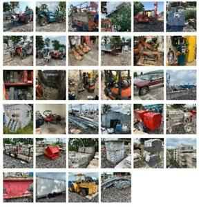 Construction Equipment - Bankruptcy Online Auction of M Cor Masonry - Telehandlers, Forklifts , Tons of Eqpt