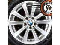 "17"" Genuine BMW 5 series alloys Renault Trafic Vauxhall Vivaro good condition"