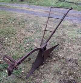 Garden / Outdoors Ornament - Horse drawn Plough / Agricultural implement