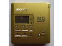 Sony MZ-R55 Minidisc Recorder and Player