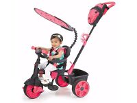 NEW IN BOX Little Tikes 4-in-1 Deluxe Edition Trike (Neon Pink) 9 - 36 months