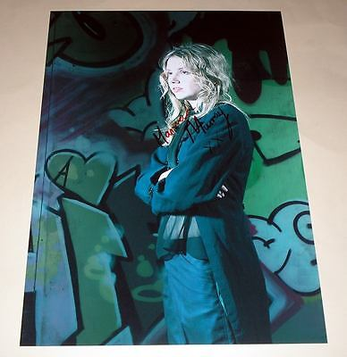 """SKINS : CASSIE PP SIGNED 12""""X8"""" POSTER HANNAH MURRAY"""