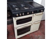 Newhome Stove 800 DF dom Double Oven GAS COOKER