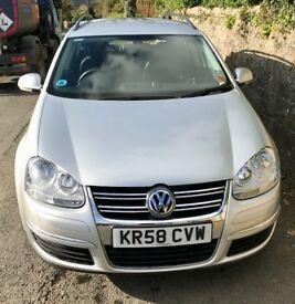 VW Golf Estate,Diesel, 6 Speed Manual ,140bhp