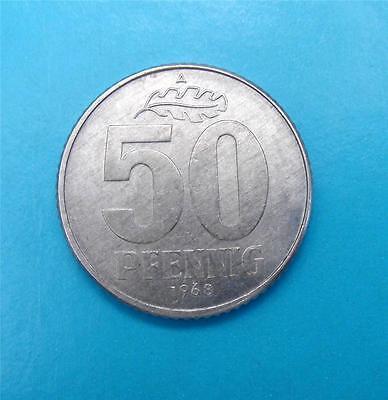 DDR 50 PFENNIG 1968 A