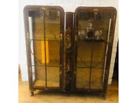 Chinoiserie Vintage Chinese cabinet cocktail bar