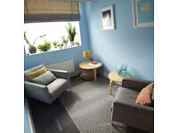 Coaching/Talking therapy office space on Regent Street - fully furnished!