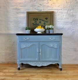 Chalk Painted French Provincial Sideboard