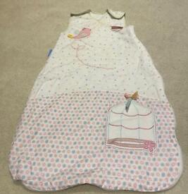 Baby girl sleeping bag grobag 0-6 months