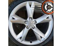 "19"" Genuine Audi Speedline Y Spoke alloys excel cond good tyres."
