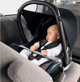 Baby Car Seat - Black Crystal Maxi-Cosi CabrioFix Group 0+
