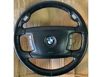 Bmw E65 E66 Steering Wheel & Airbag