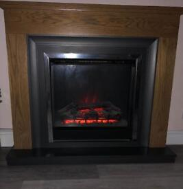 Housing units electric fire
