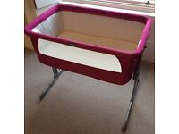 Chicco Next2Me (Side Cot / Travel Cot) Excellent Condition