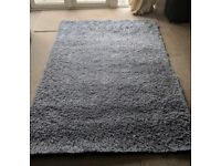 Lush Silver Rug, perfect for dining/ living room. Lovely underfoot feel, was a wedding present.