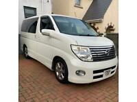 2007 (56) imported Nissan Elgrand Highway Star