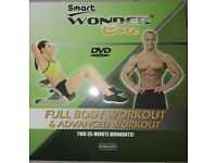 Wonder core fitness dvd (two 35min workouts)