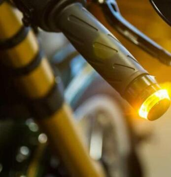 LED knipperlichten Bar End Honda Cafe Racer Bobber
