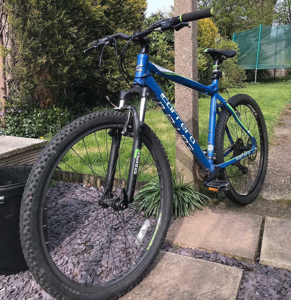 Carrera Valour 27 5 Large Frame Men's Mountain Bike Blue & Green | in  Wolverhampton, West Midlands | Gumtree