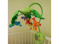 Fisher Price Rainforest Peek-A-Boo Leaves Mobile