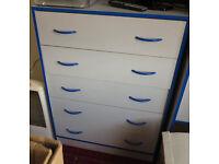 Bedroom Furniture Set, Drawers/Desk/Matching Chair/Bedside Drawers