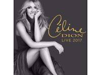 4x Celine Dion Tickets for Manchester Arena on 1/8/17