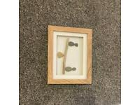 Pebble art, handmade