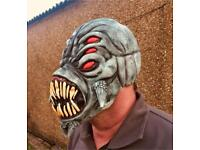 FX Studios Full Head Latex Viper Halloween Horror Mask New With Tags RRP £29.99