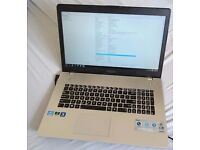 Asus Gaming Laptop N76VM, 12gb i7 Quadcore, 1.5TB SSD + HDD Nvidia 630M 2GB 17.3