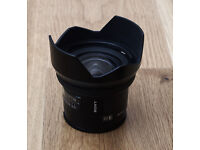 Sony 20mm F2.8 A-Mount Landscape and Ultra-wide low light lens for video